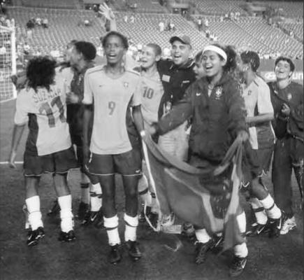 Head Coach Vava Marques was the official FIFA Liaison for the Brazilian Women's National Team during the Women's World Cup.