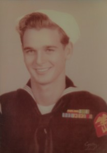 WWII veteran Al Galedrige joined the Navy when he was just 17 years old. Photo by Carl Faust.